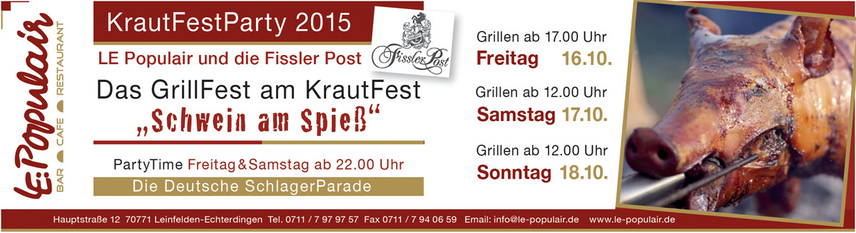 grillfest - LE:Populair